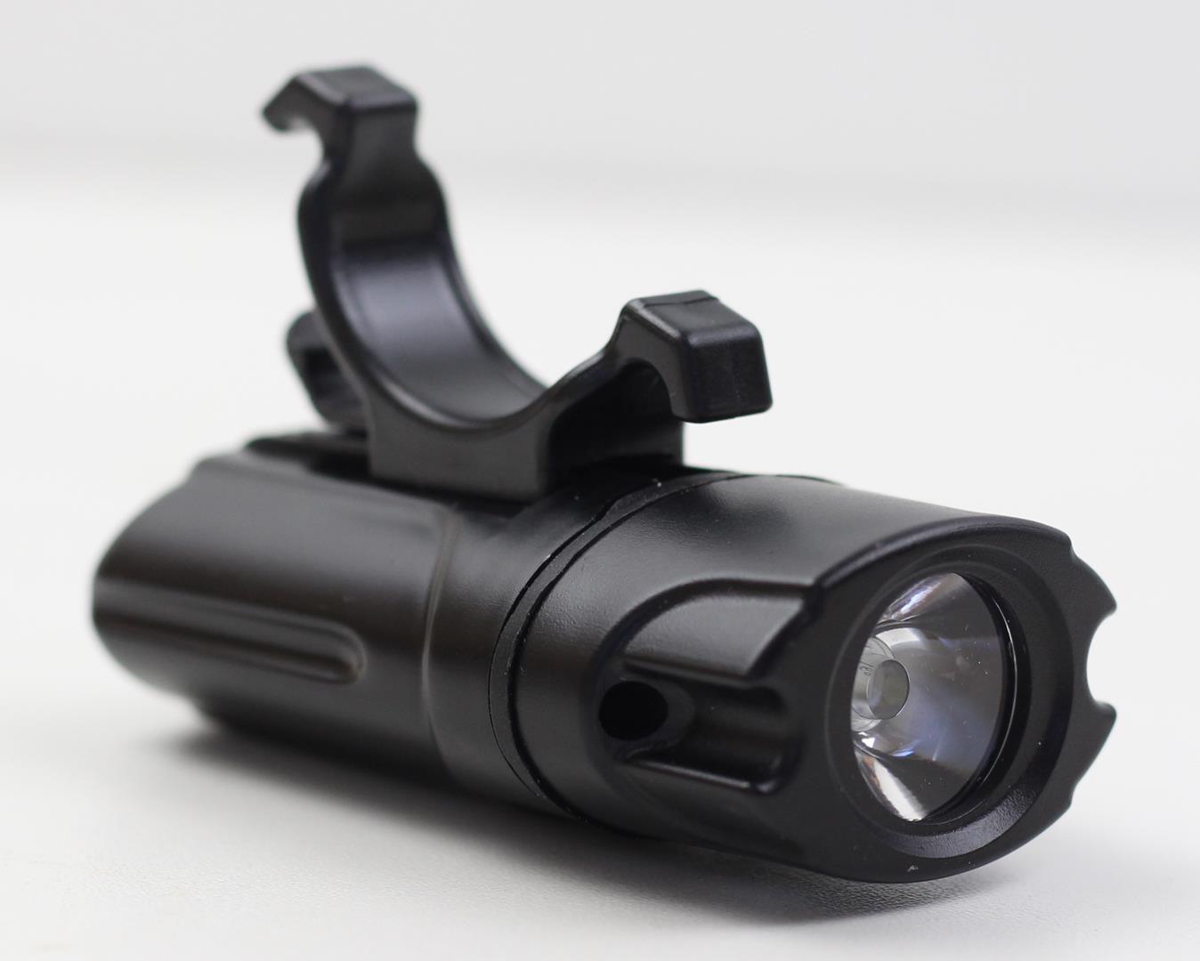 Lanterna Farol Dianteiro para Bicicleta JWS WS-8209 Super Led Preto Recarregavél