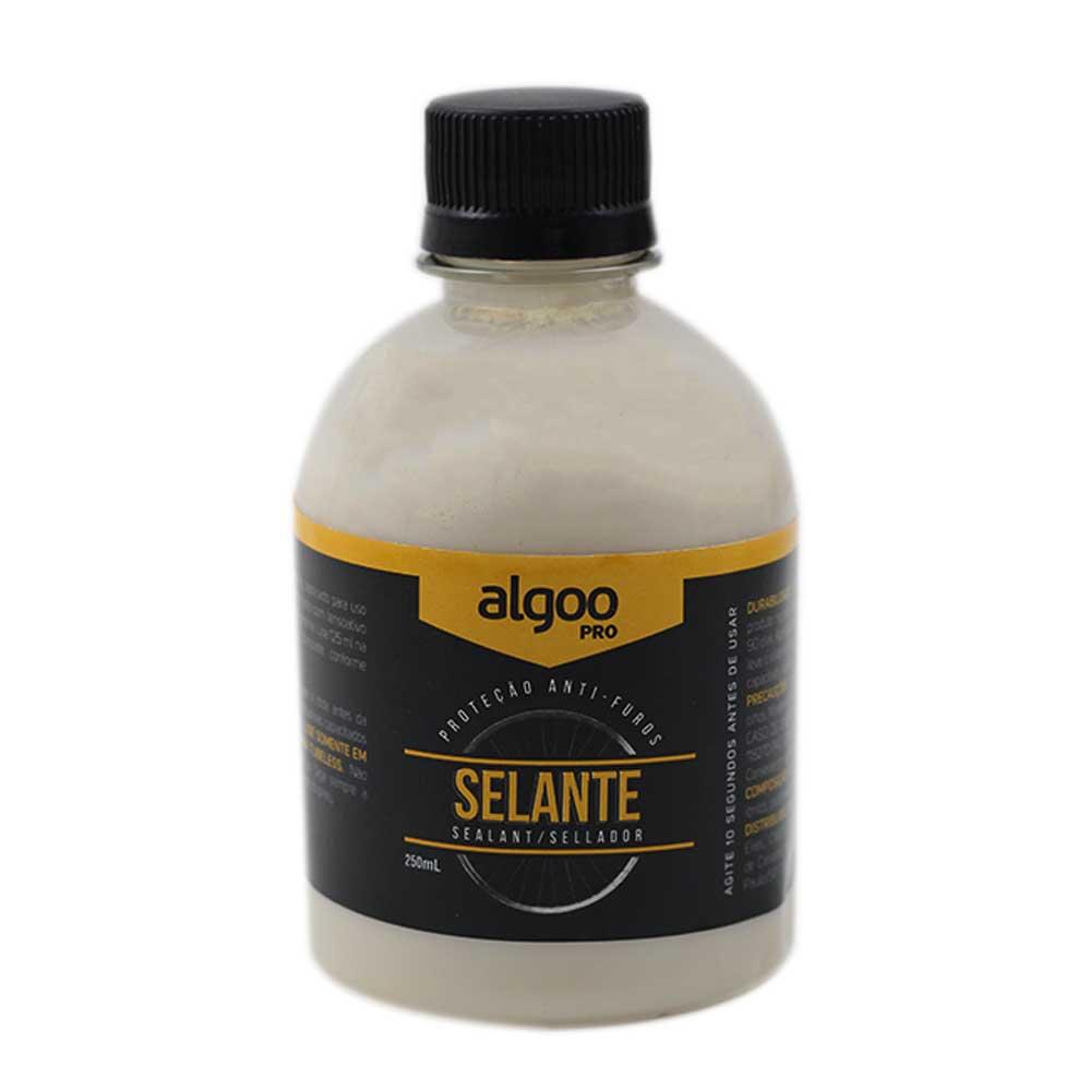 Líquido Selante Tubeless Algoo Pro Biodegradável com 250ml para Bicicletas MTB Speed Sem Amônia