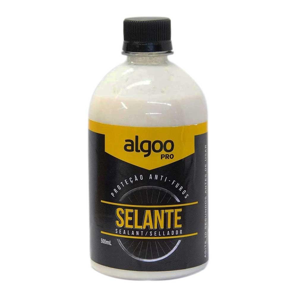 Líquido Selante Tubeless Algoo Pro Biodegradável com 500ml para Bicicletas MTB Speed Sem Amônia