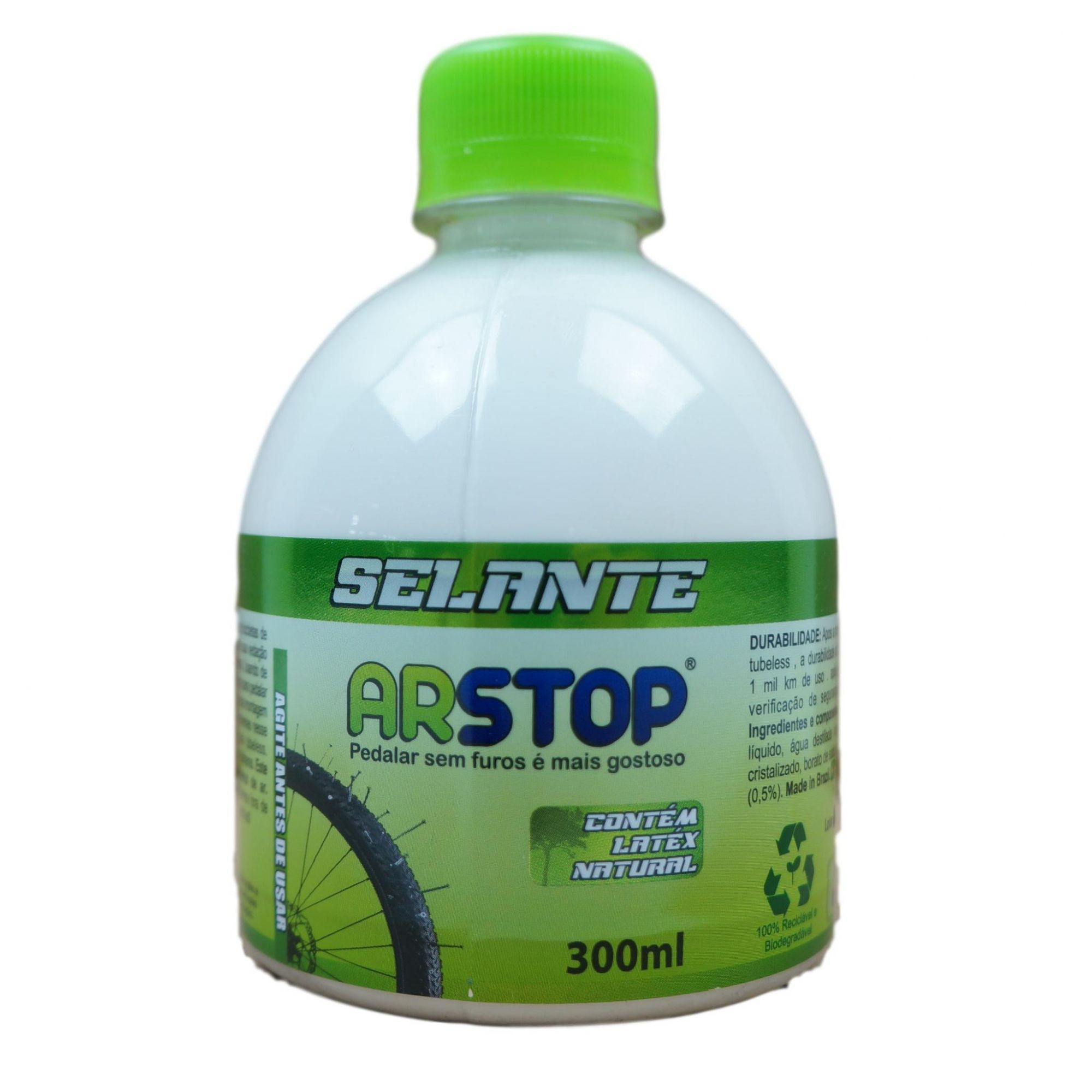 Líquido Selante Tubeless Arstop com 300ml para Bicicletas MTB Speed