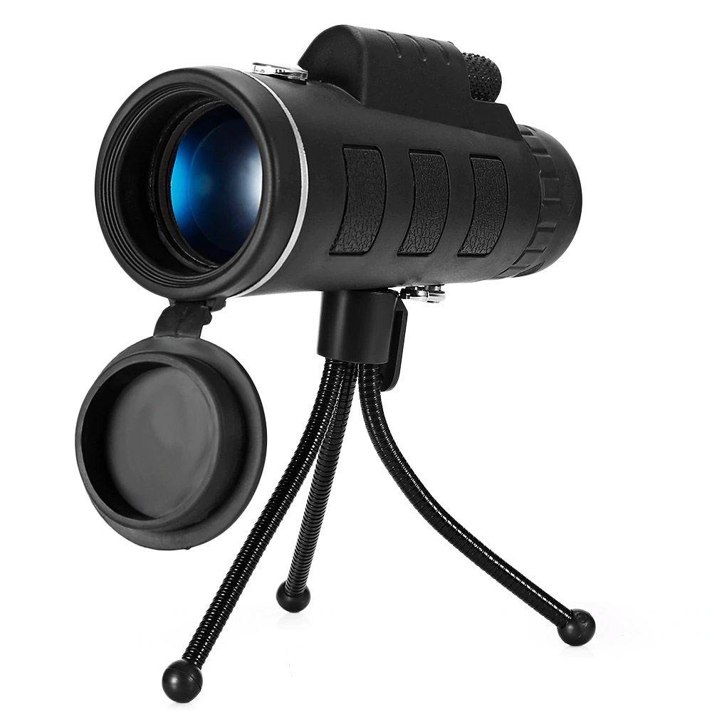 Luneta Monoculo JWS Com Tripé E Suporte Celular Tipo Binoculo e Telescopio Aumenta Zoom até 40x
