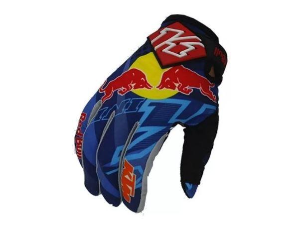 Luvas Red Bull Ktm para Ciclismo Mtb Enduro Downhill Trilha Motocross