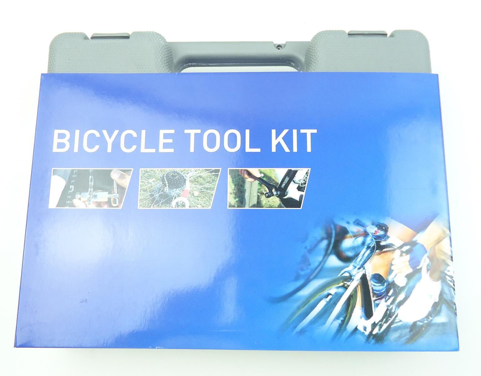 Maleta de Ferramentas Absolute com 17 Peças Para Manutenção de Bicicletas