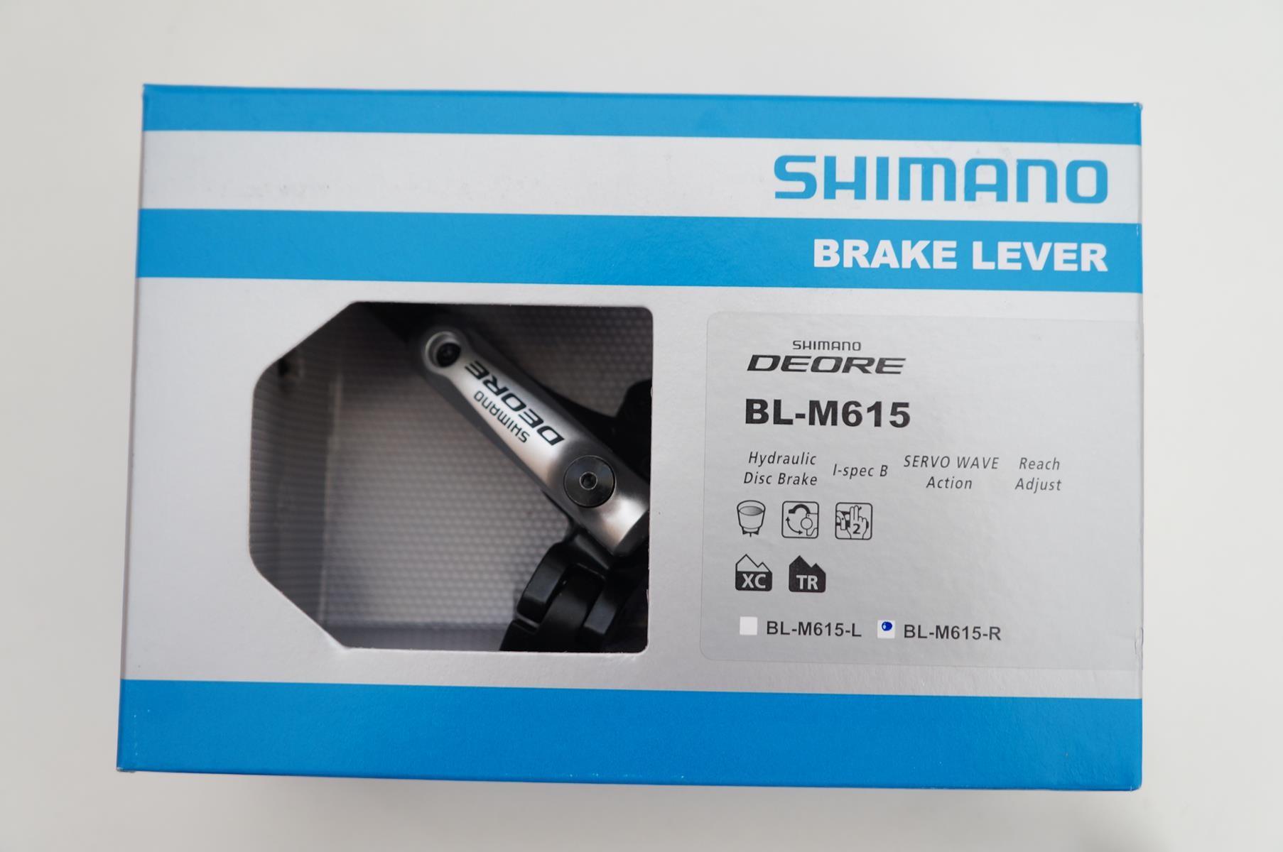 Manete De Freio À Disco Shimano Deore BL-M615 Lado Direito