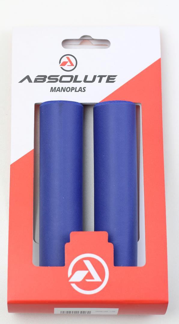 Manoplas Absolute para MTB em Silicone Colorida 35 Gramas Várias Cores igual ESI Grips