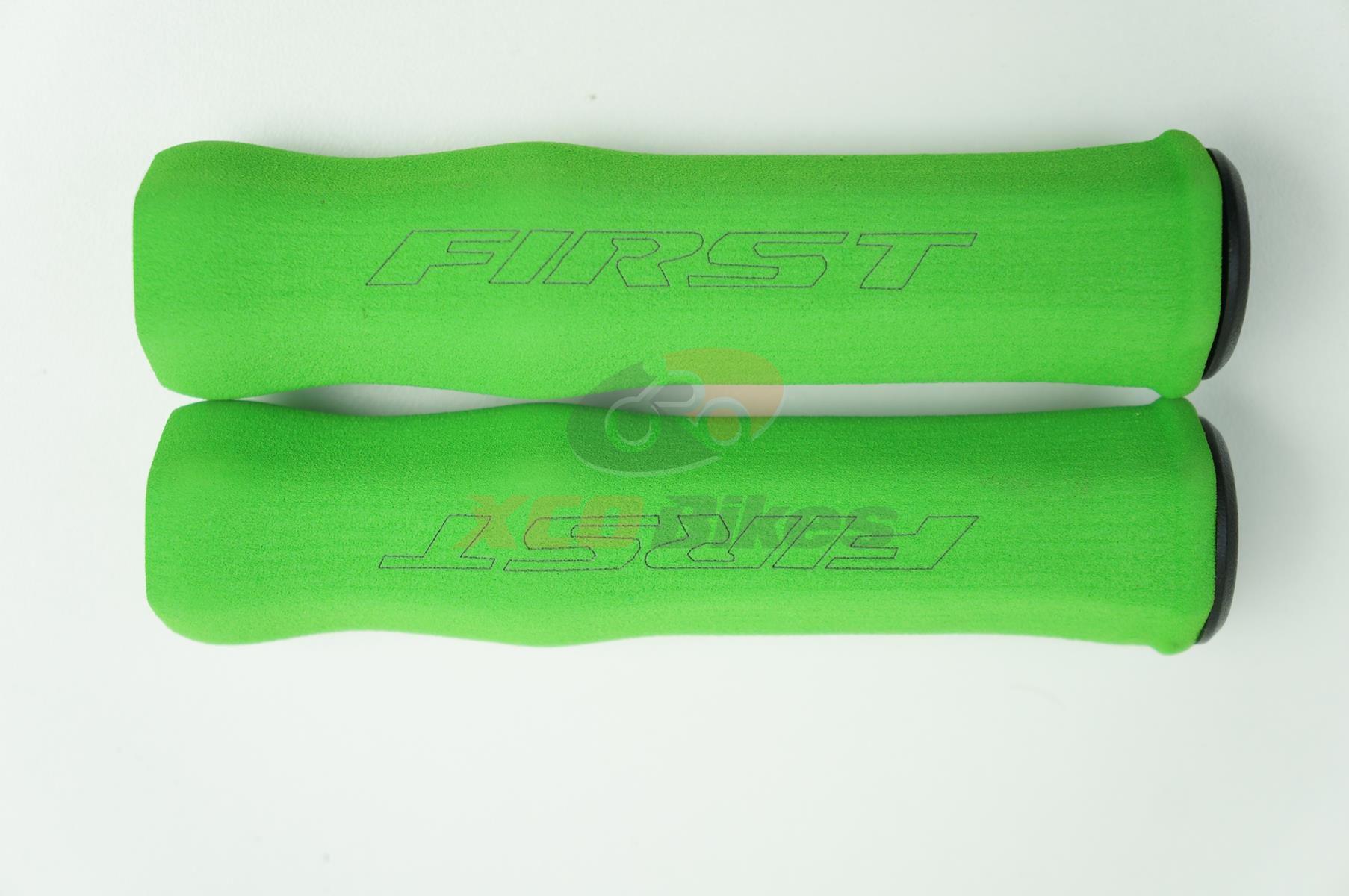 Manoplas Mtb First Super Confort Eva Colorida 40 Gramas Várias Cores