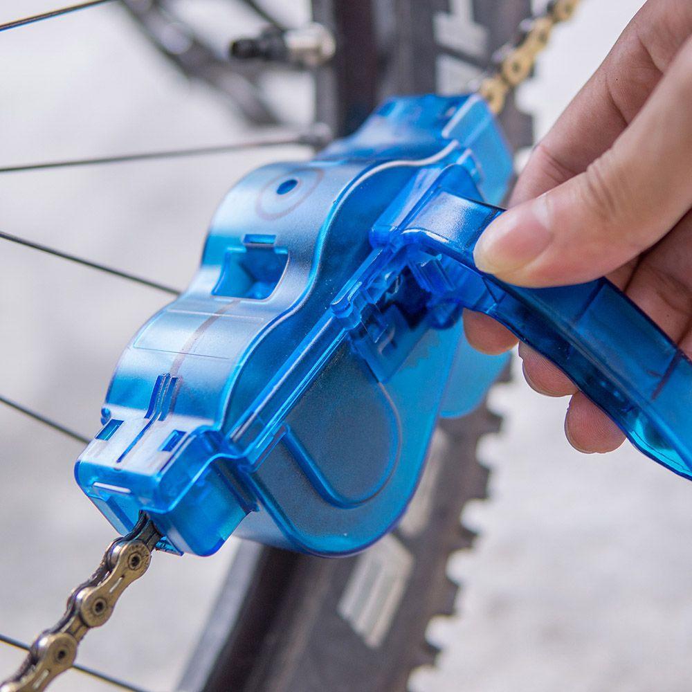 Maquina de Limpar Corrente para Bicicletas Chain Cleaner Limpador + Desengraxante Algoo 1 Litro