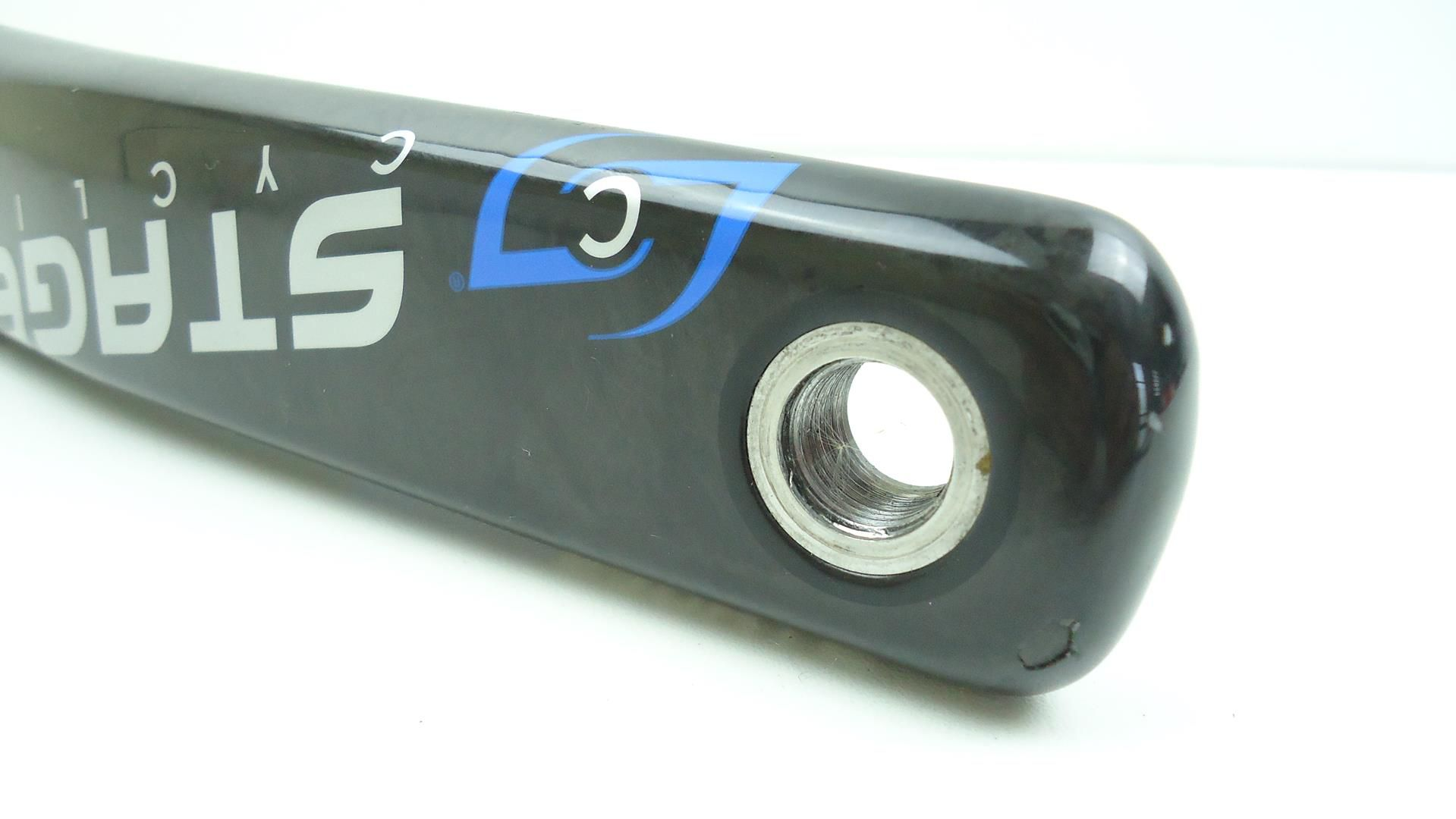 Medidor de Potência Stages Para Pedivelas Sram Red 22 e FSA 172.5mm Braço em Carbono Powermeter - USADO