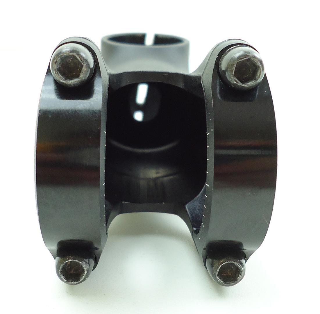 Mesa Avanço Bicicleta Bontrager 90mm 7º graus Inclinação 31.8mm Preta 137 gramas - USADO