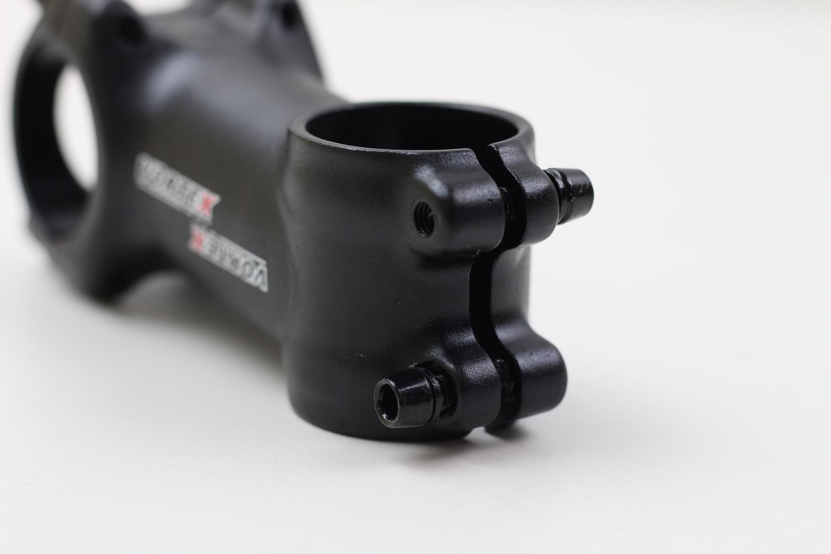 Mesa Avanço Bicicleta Mtb Vortex 60mm 31.8mm 6º De Inclinação Preta