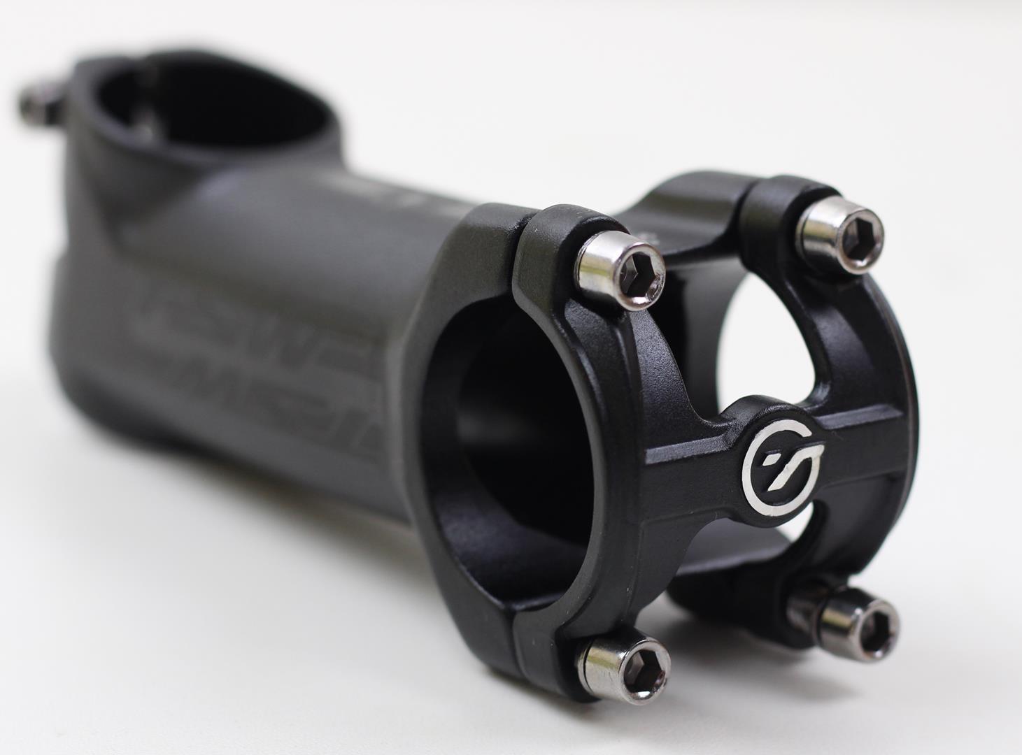 Mesa Avanço Bicicleta TSW 80-90-100-110mm 31.8mm 17º De Inclinação Cor Preta