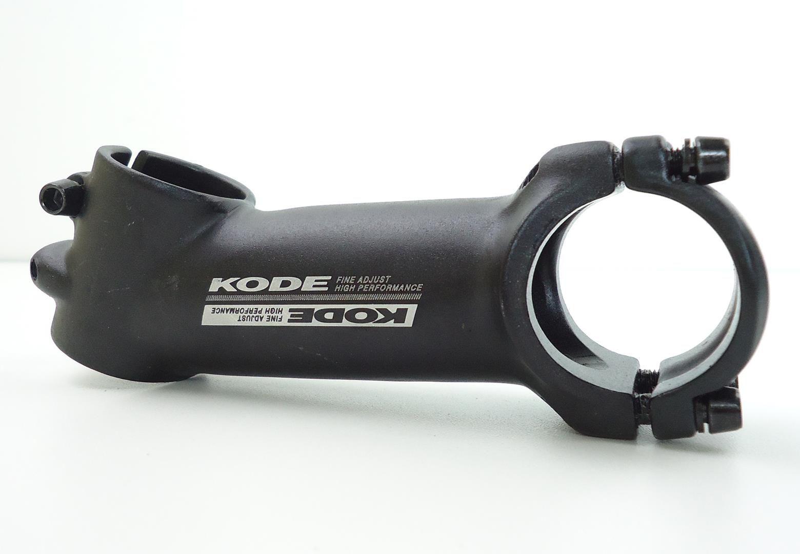 Mesa Bicicleta Mtb Kode 80 90 ou 100mm 25º graus em Aluminio 31.8mm Cor Preta