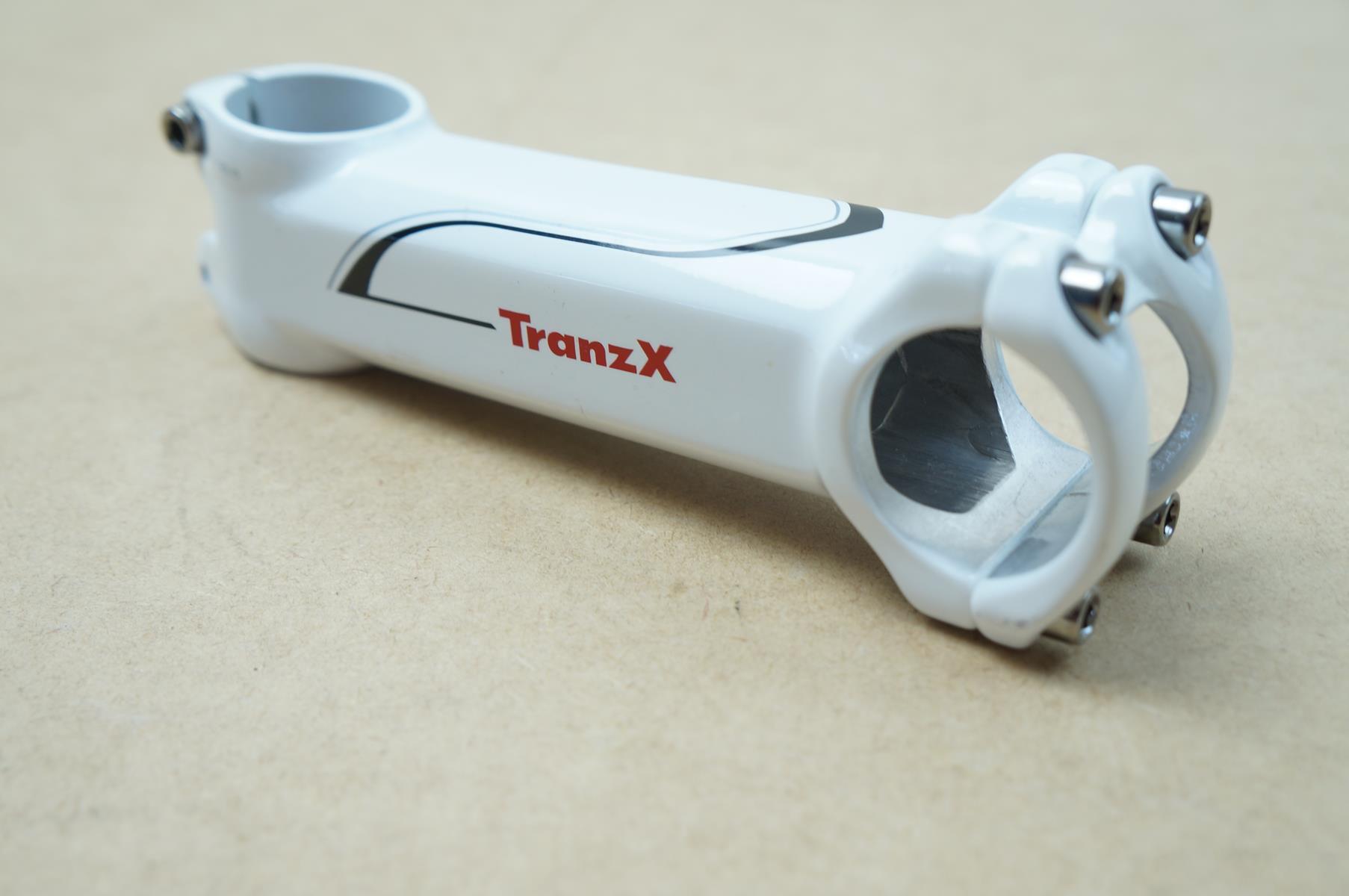 Mesa Avanço Bicicleta Mtb Tranzx 31.8mm 8º graus de Inclinação Cor Branca Varias Medidas