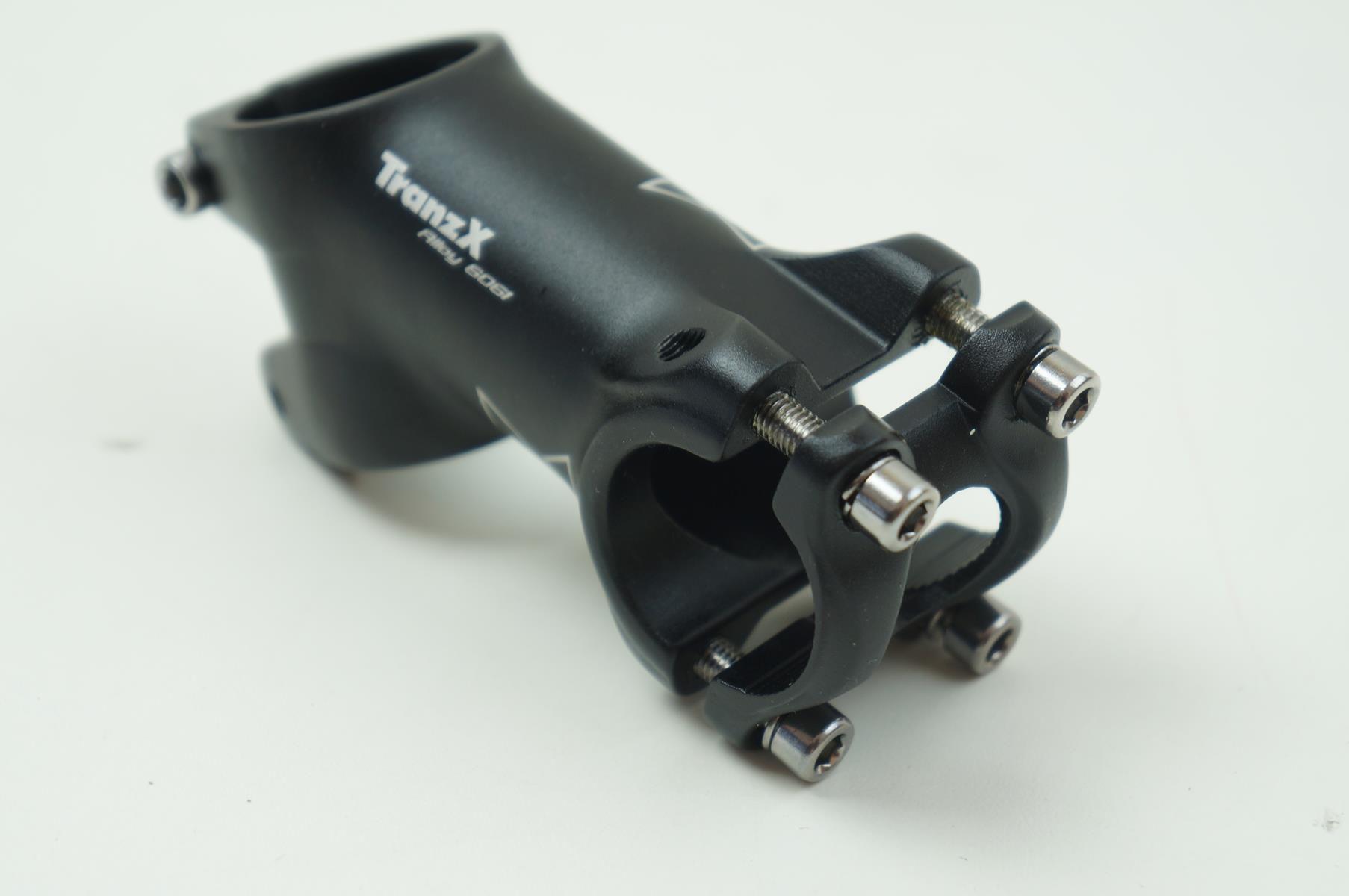 Mesa Bicicleta Mtb Tranzx 70mm 25.4mm Preta 35º graus Inclinação