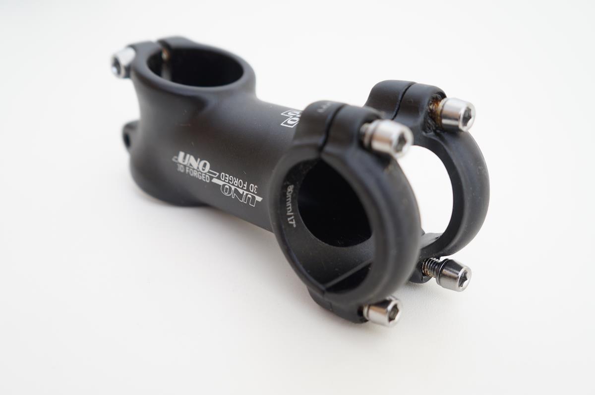 Mesa Bicicleta Mtb Uno 80mm 31.8mm 17º De Inclinação Preta
