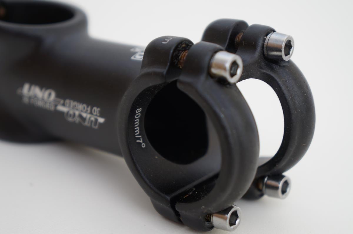Mesa Bicicleta Mtb Uno 80mm 31.8mm 7º graus de Inclinação Cor Preta