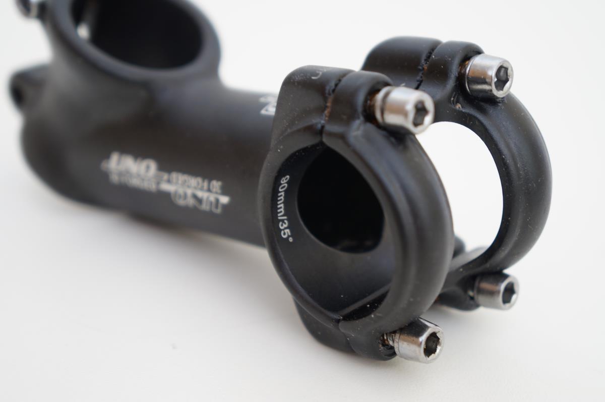 Mesa Bicicleta Mtb Uno 90mm 31.8mm 35º De Inclinação Preta