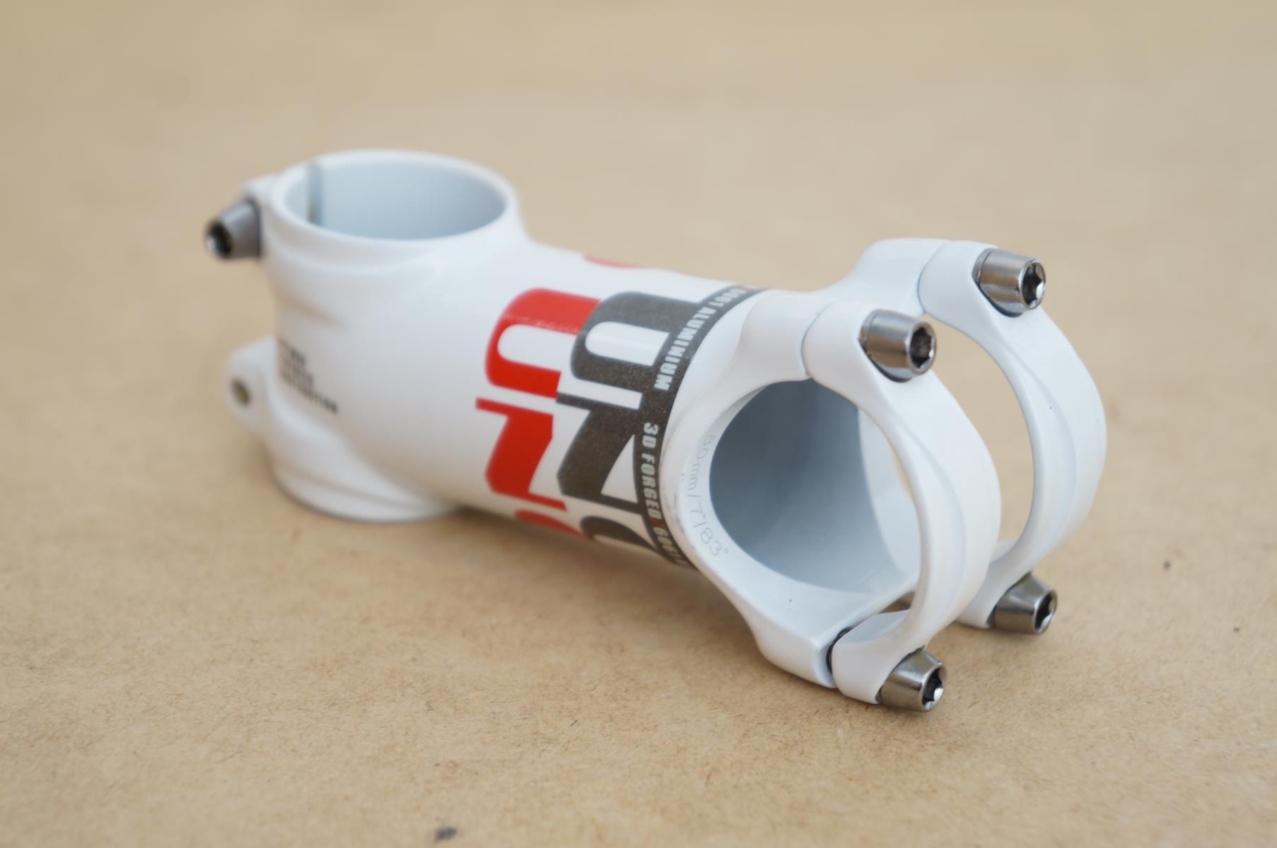 Mesa Bicicleta Mtb Uno AS025 80mm 31.8mm 7º De Inclinação Branca Super leve