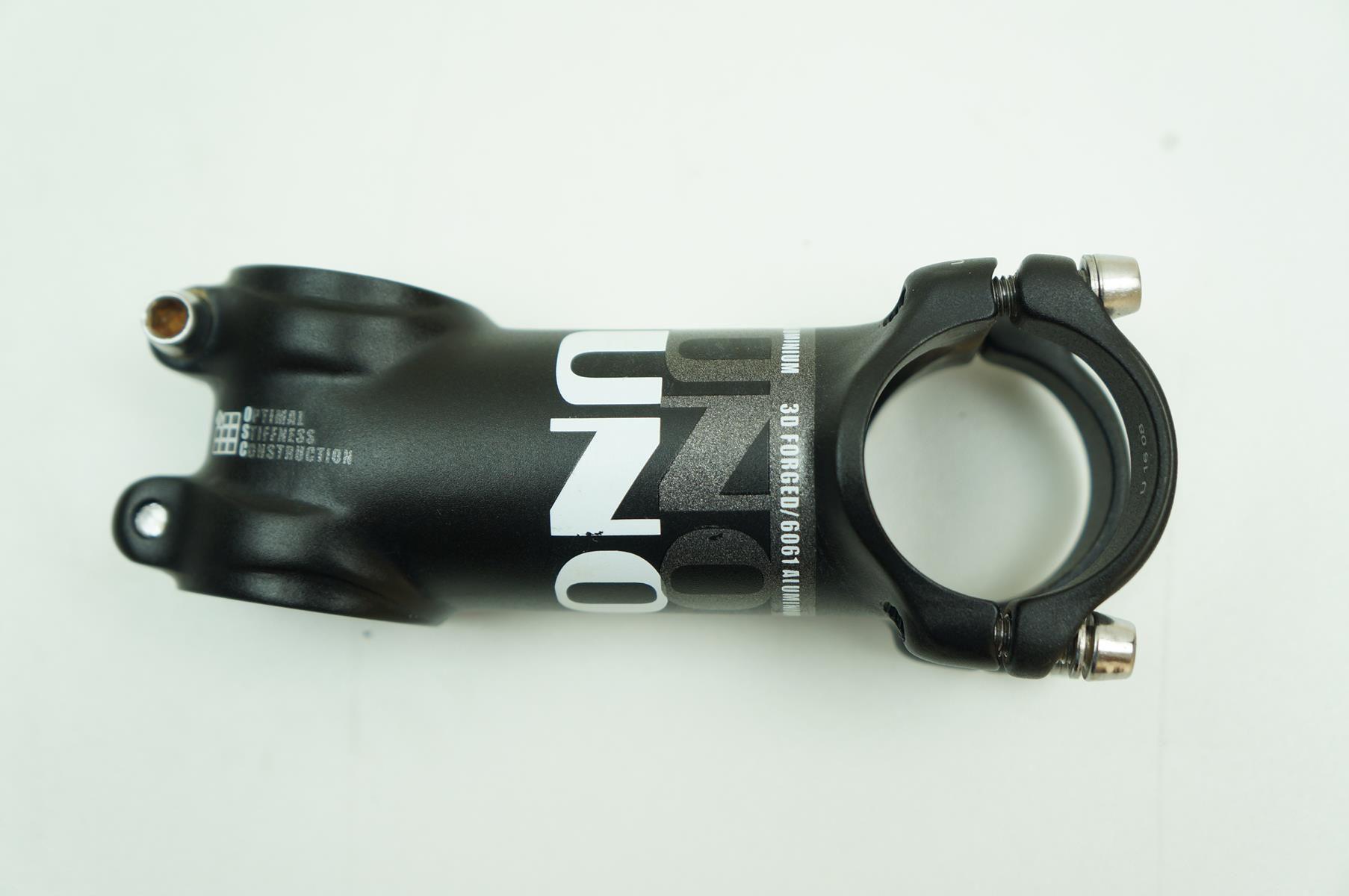 Mesa Bicicleta Uno AS025 80mm 7º graus Inclinação 31.8mm Preta 89 gramas - USADO
