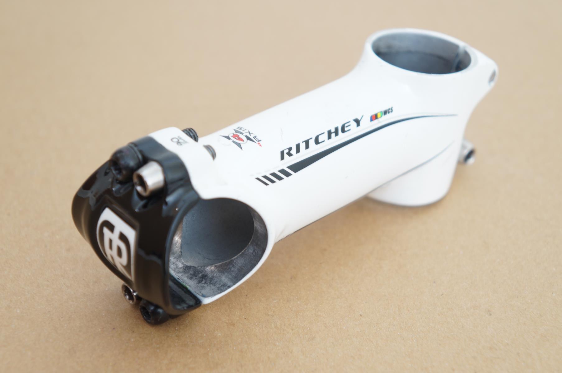 Mesa Avanço Bicicleta Ritchey WCS Aluminio 90mm Branca 31.8mm 6º/84º 110g - USADO