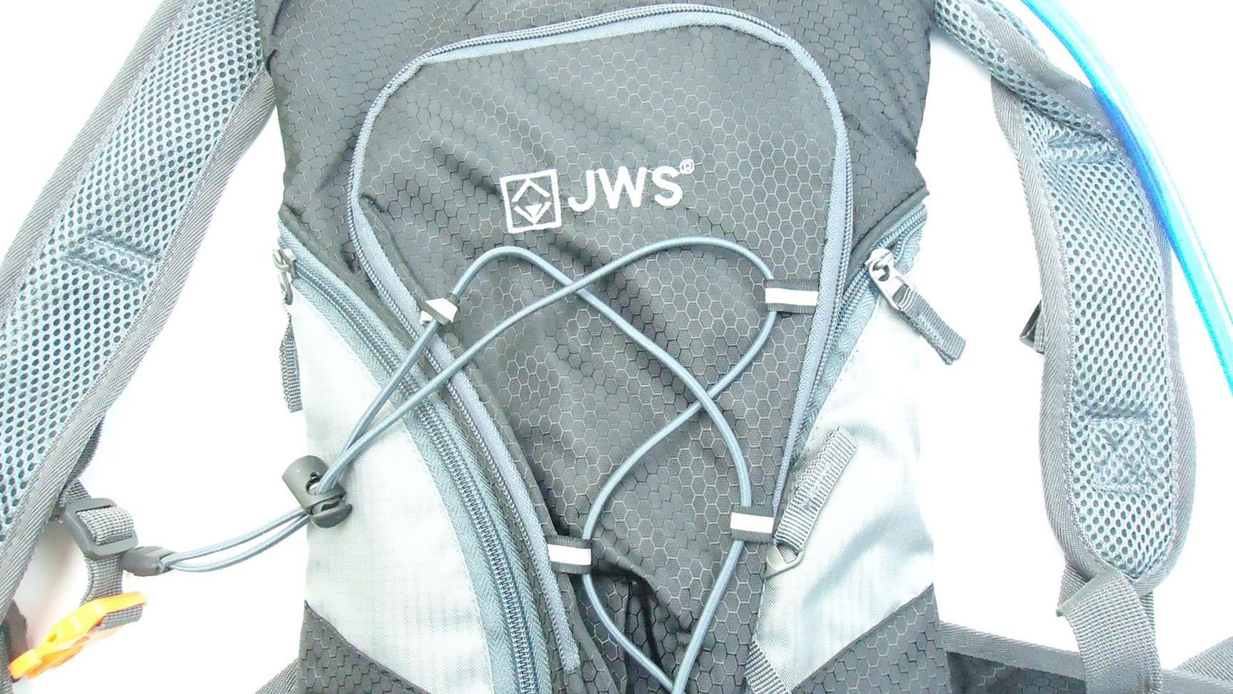 Mochila De Hidratação JWS W-166 com Refil 2 Litros Para Água Cor Preta Tipo Camelbak
