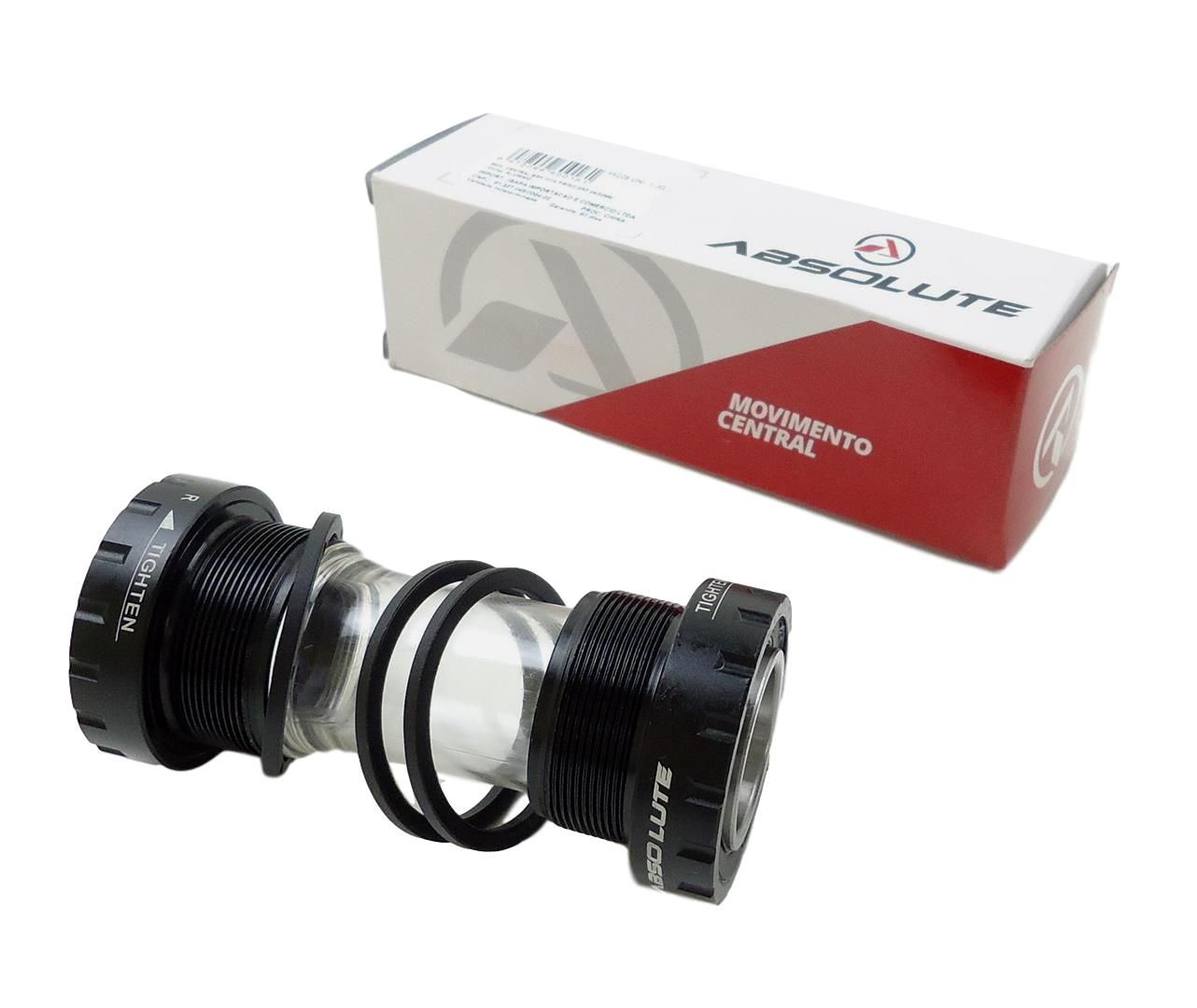 Movimento Central Absolute MTB BSA Rosca Inglesa 68 73mm para Sram GXP Truvativ Eixo 24/22mm