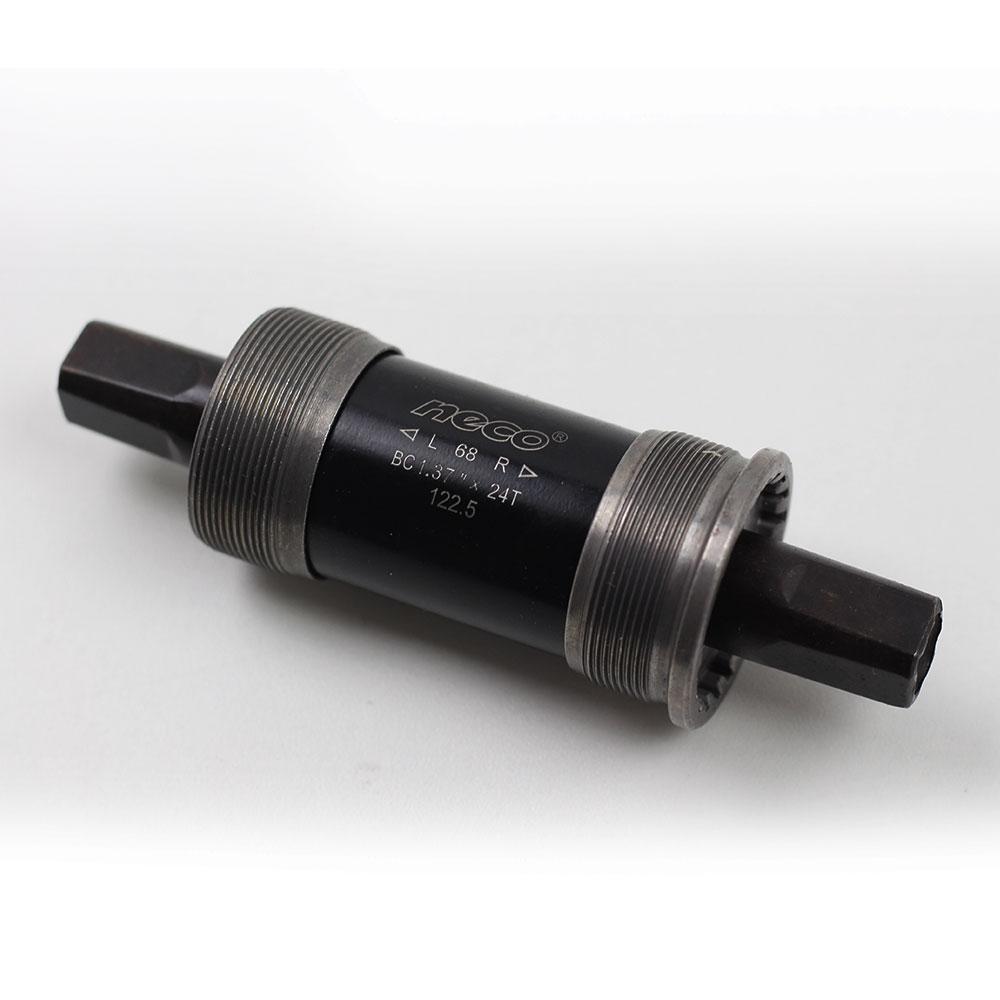 Movimento Central Bike Neco 122.5mm Ponta Quadrada Rosca 34.7mm