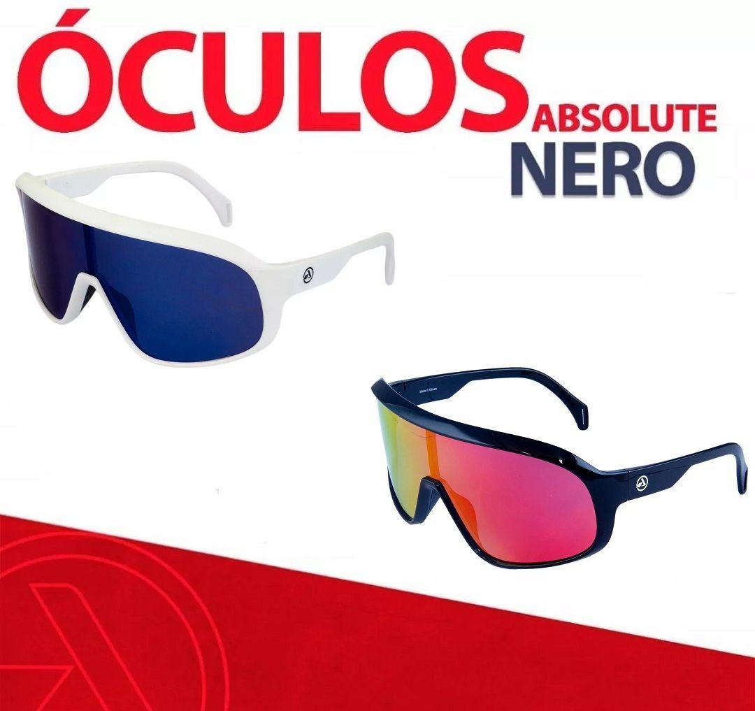 Óculos Ciclismo Absolute Nero 400uv Polarizado Bike