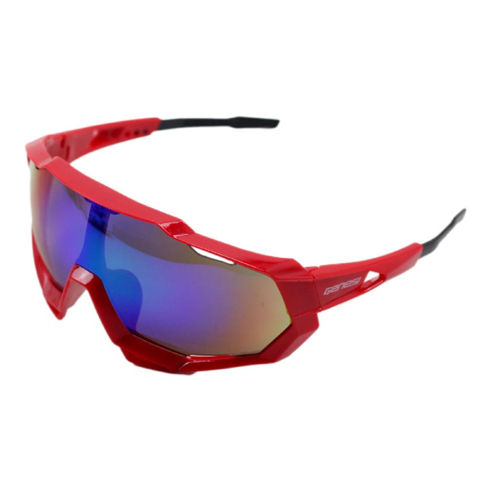 Óculos Ciclismo de Proteção Genesi Esportivo UV400 Bicicleta Diversas Cores