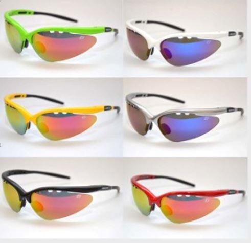 Óculos Para Ciclismo REDD Attack com 5 Lentes Várias Cores