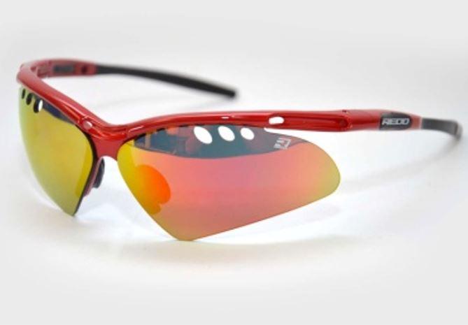 Óculos Para Ciclismo REDD Flight com 5 Lentes Várias Cores
