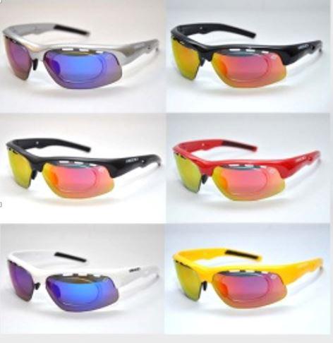 Óculos Para Ciclismo REDD Target com 5 Lentes Várias Cores + Adaptador de Grau