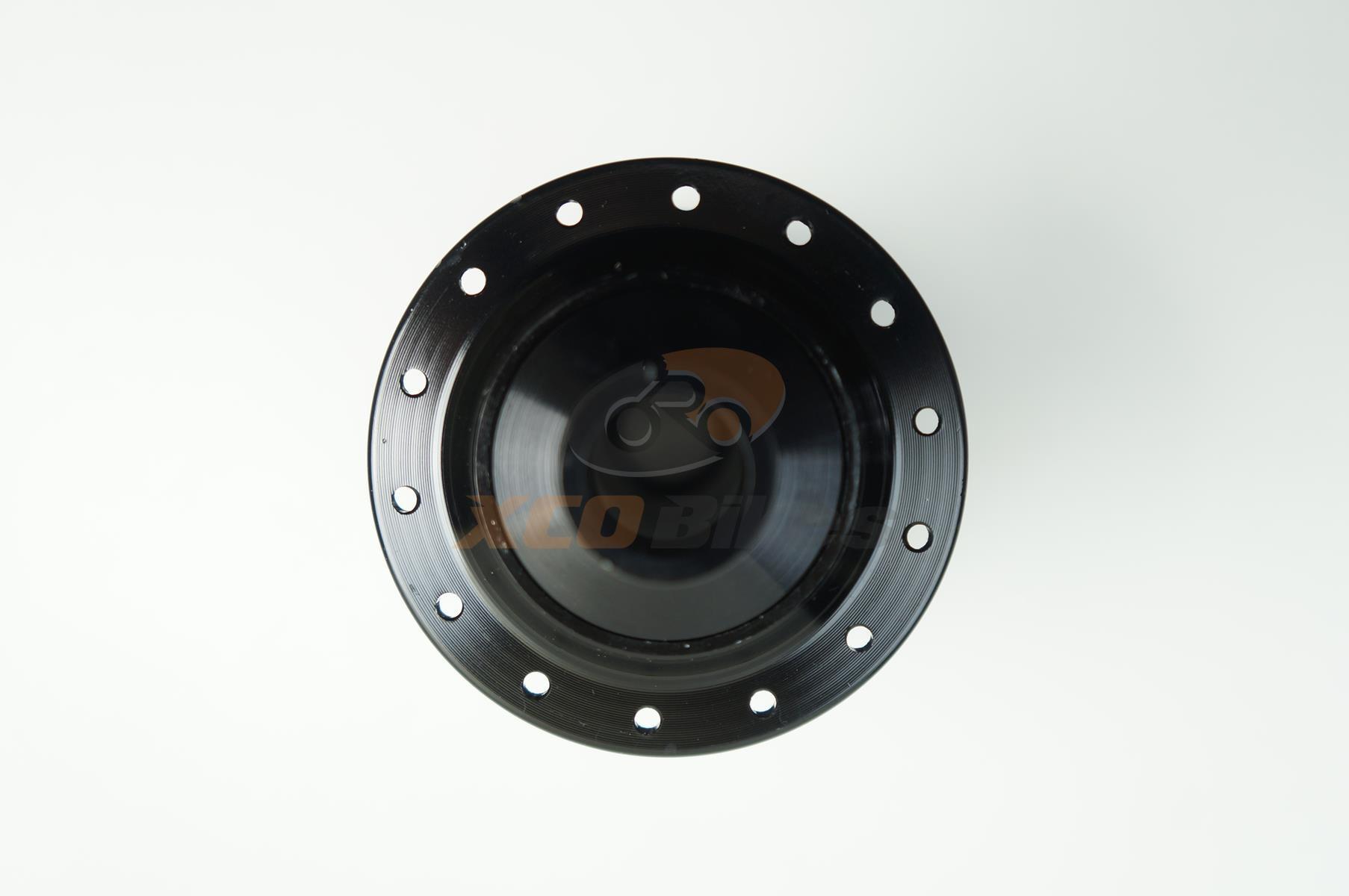Par de Cubos Absolute Prime Eixo 15x100 e 142x12mm 28 furos com Rolamentos Padrão Shimano 9-10-11v