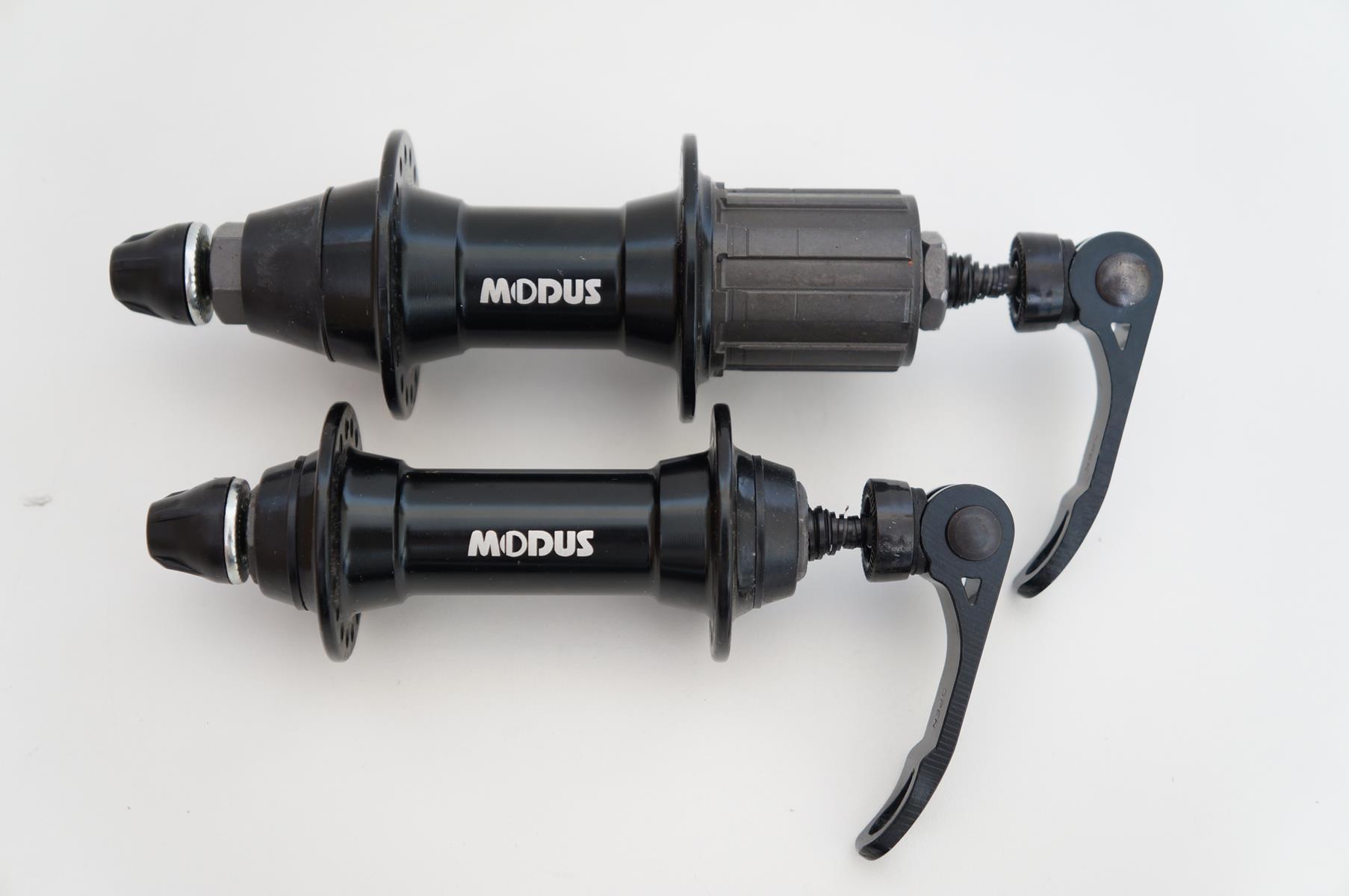 Par De Cubos Bicicleta Modus 36 Furos Para Freios V-Brake 8 9 e 10v