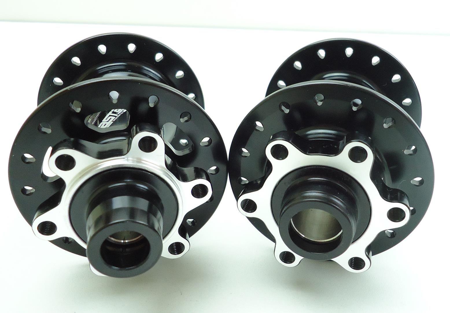 Par de Cubos Fastace DA201 Shimano 12 velocidades Micro Spline 32 Furos Eixo 142mm p/ SLX M7100 XT M8100 XTR M9100