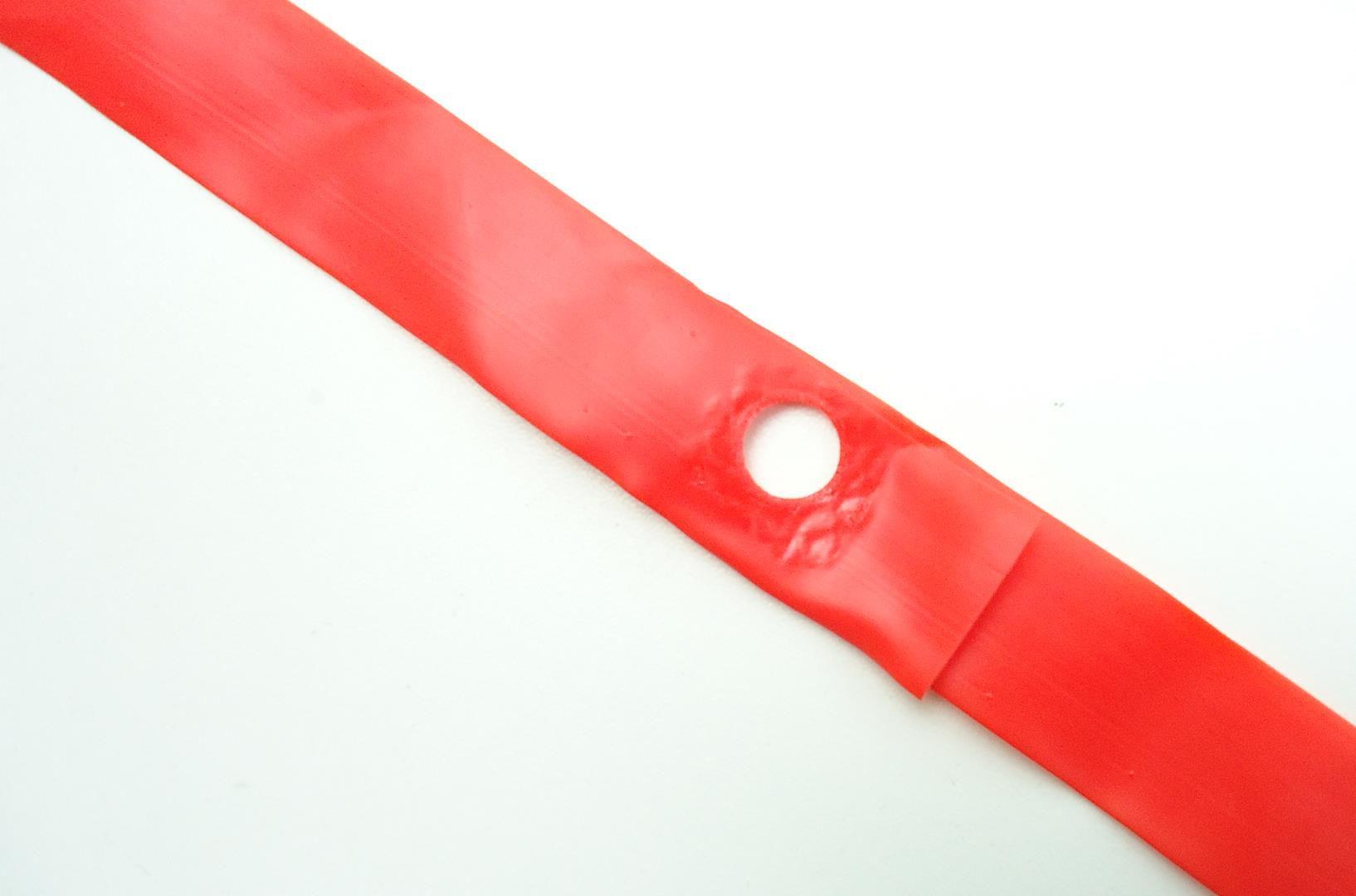 Par de Fitas de Aro Mitas para Bicicletas Aro 29 Cor Vermelha 18mm Largura
