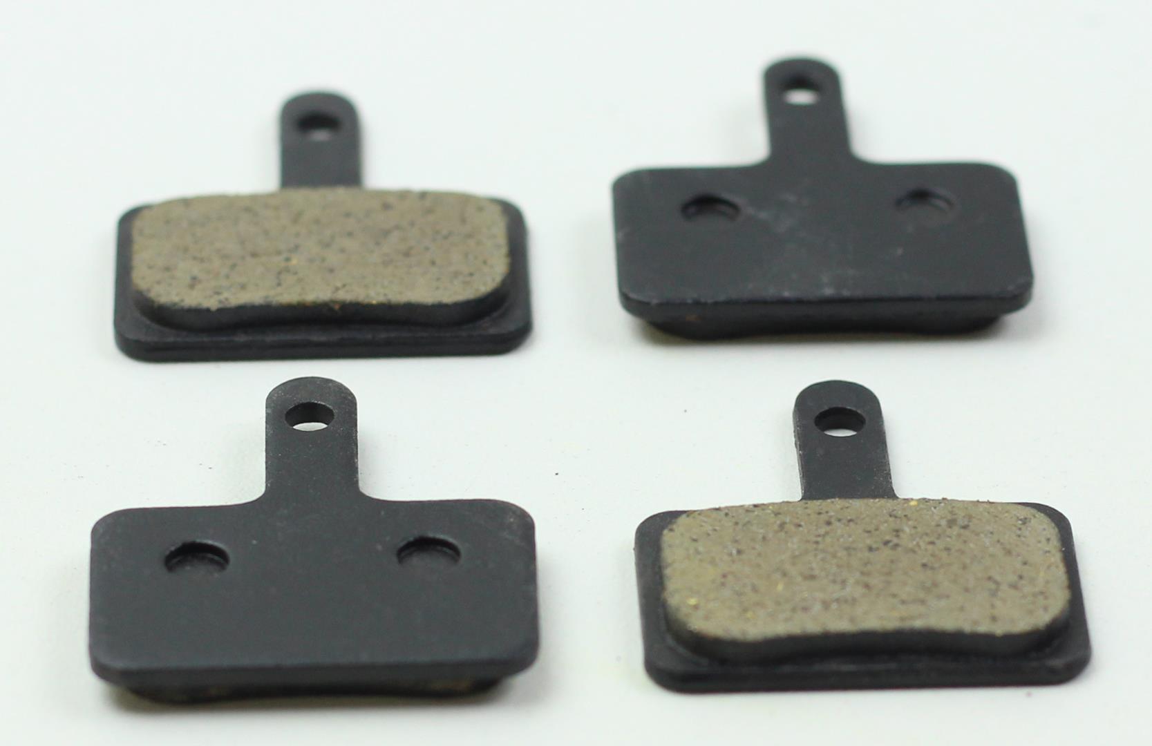 Par de Pastilha De Freio Disco Orgânica Winzip para Shimano M575 M495 M486 M485 M445 M315 MT200