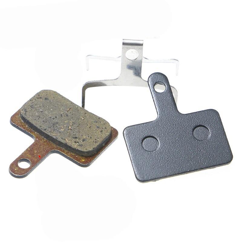 Par de Pastilha De Freio Disco Orgânica GTS para Shimano M575 M495 M486 M485 M445 M315 MT200