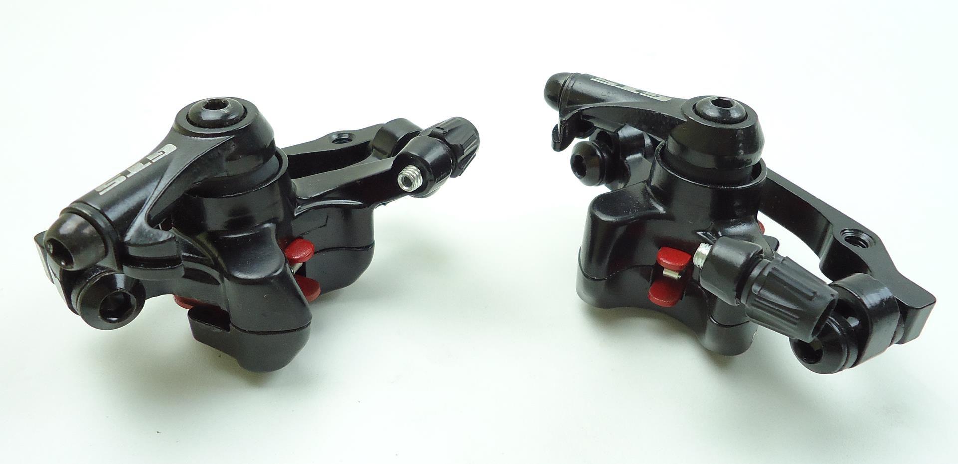 Par De Pinças para Freio À Disco Bicicletas GTS Mecânico com 2 Discos 160mm
