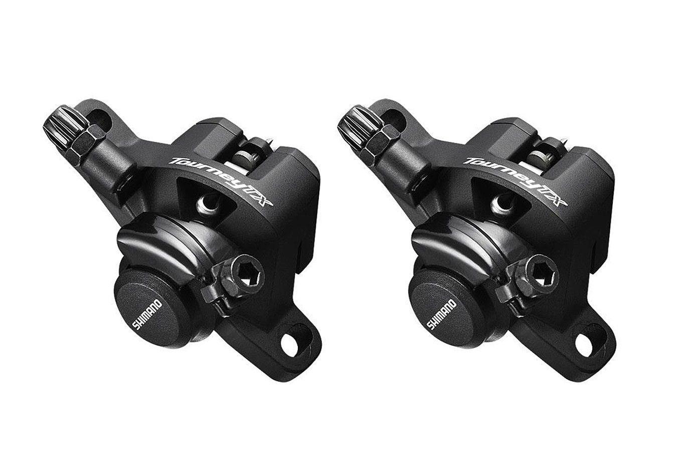 Par De Pinças para Freio À Disco Bicicletas Shimano Tourney Tx805 Mecânico