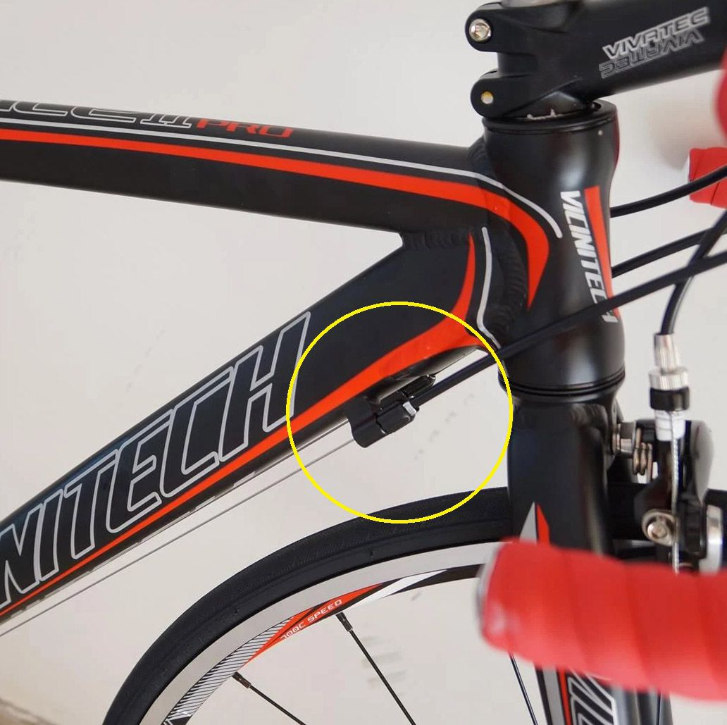 Par de Reguladores de Marcha para Passadores/Quadros Bicicleta Speed MTB