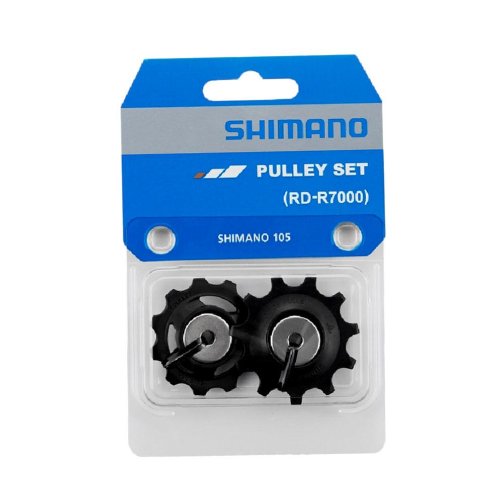 Par de Roldanas Shimano 105 R7000 para Câmbios Speed 11 velocidades Ultegra R8000