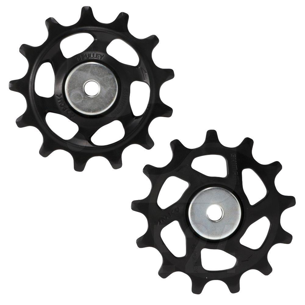 Par de Roldanas Shimano SLX M7100 12 velocidades para Câmbios Shimano SLX M7100 XT M8100 XTR M9100