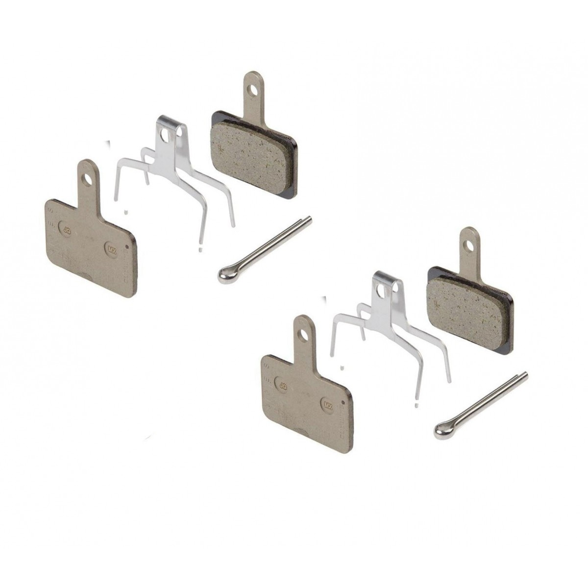 Par Pastilhas De Freio Disco Shimano B01S para os Modelos  M575-M495-M486-M485-M445