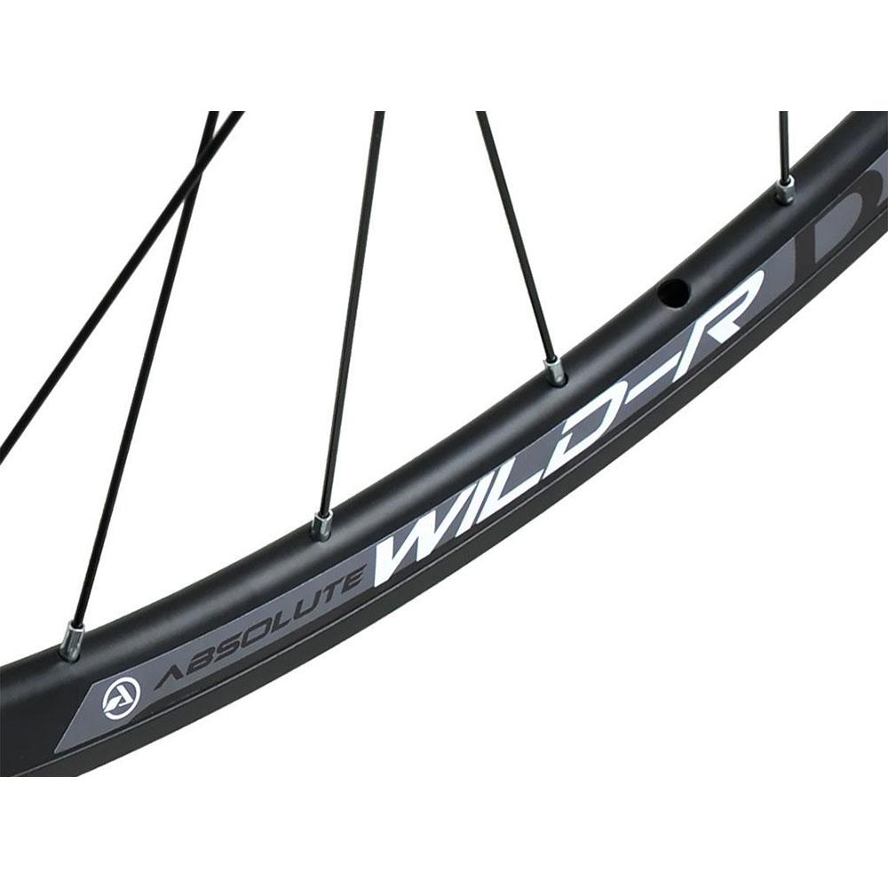 Rodas para Bicicleta Speed 700 Absolute Wild-R Disc em Alumino para Freio a Disco Eixo blocagem 9mm