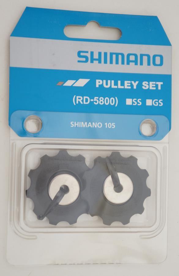 Par Roldanas Câmbio Road Shimano 105 RD-5800 11 velocidades Speed