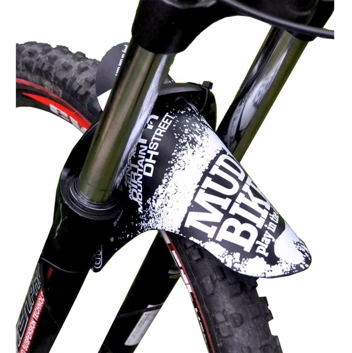 Paralama Bicicleta Dianteiro Mud Bike MTB Enduro DH em Plástico - Várias Cores