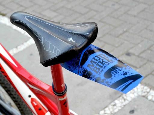 Paralama Bicicleta Traseiro Mud Bike MTB Enduro DH em Plástico - Várias Cores