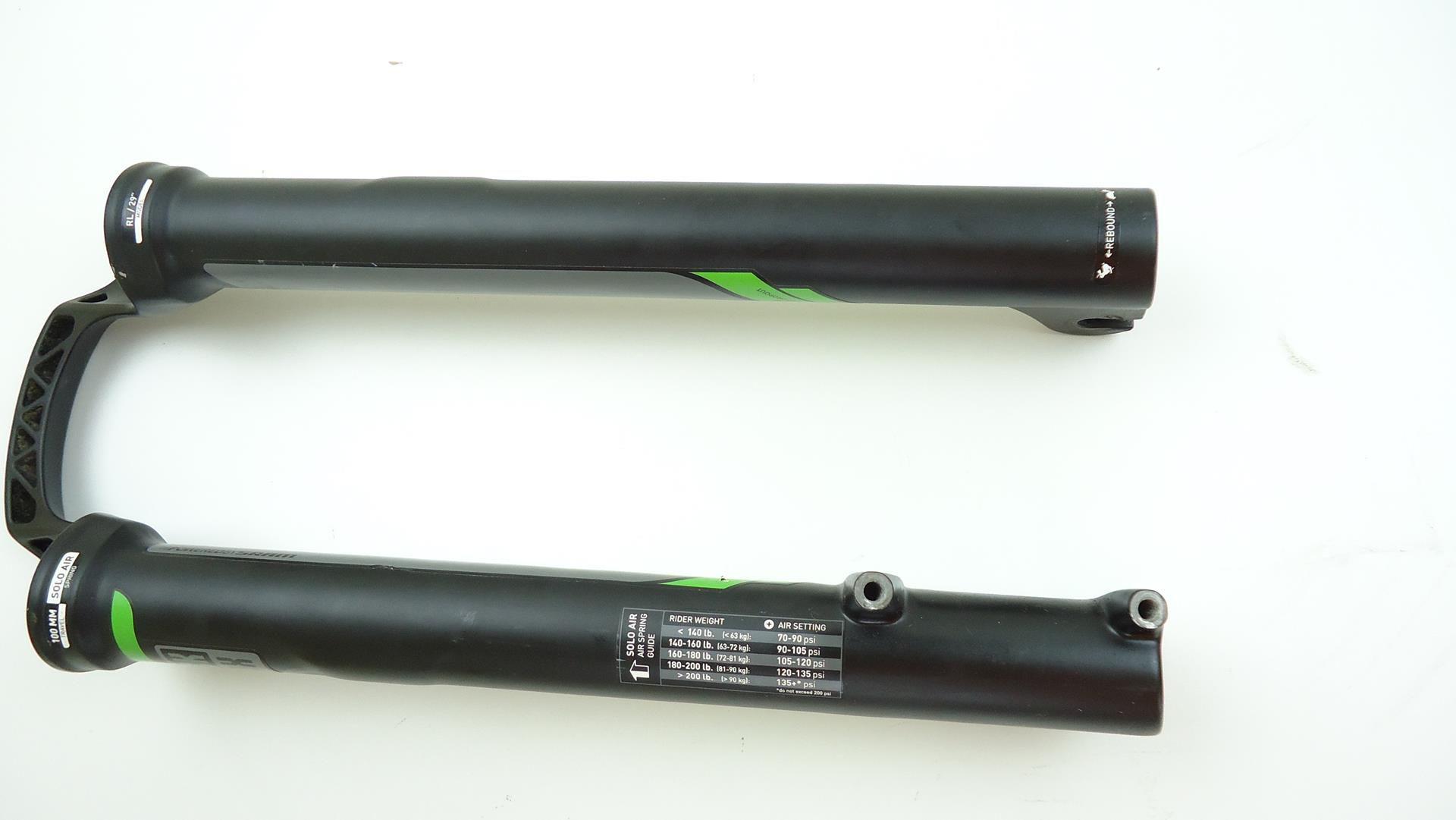 Parte Inferior Canela Suspensão Rock Shox Reba RL Aro 29 32mm Eixo 9mm - USADO
