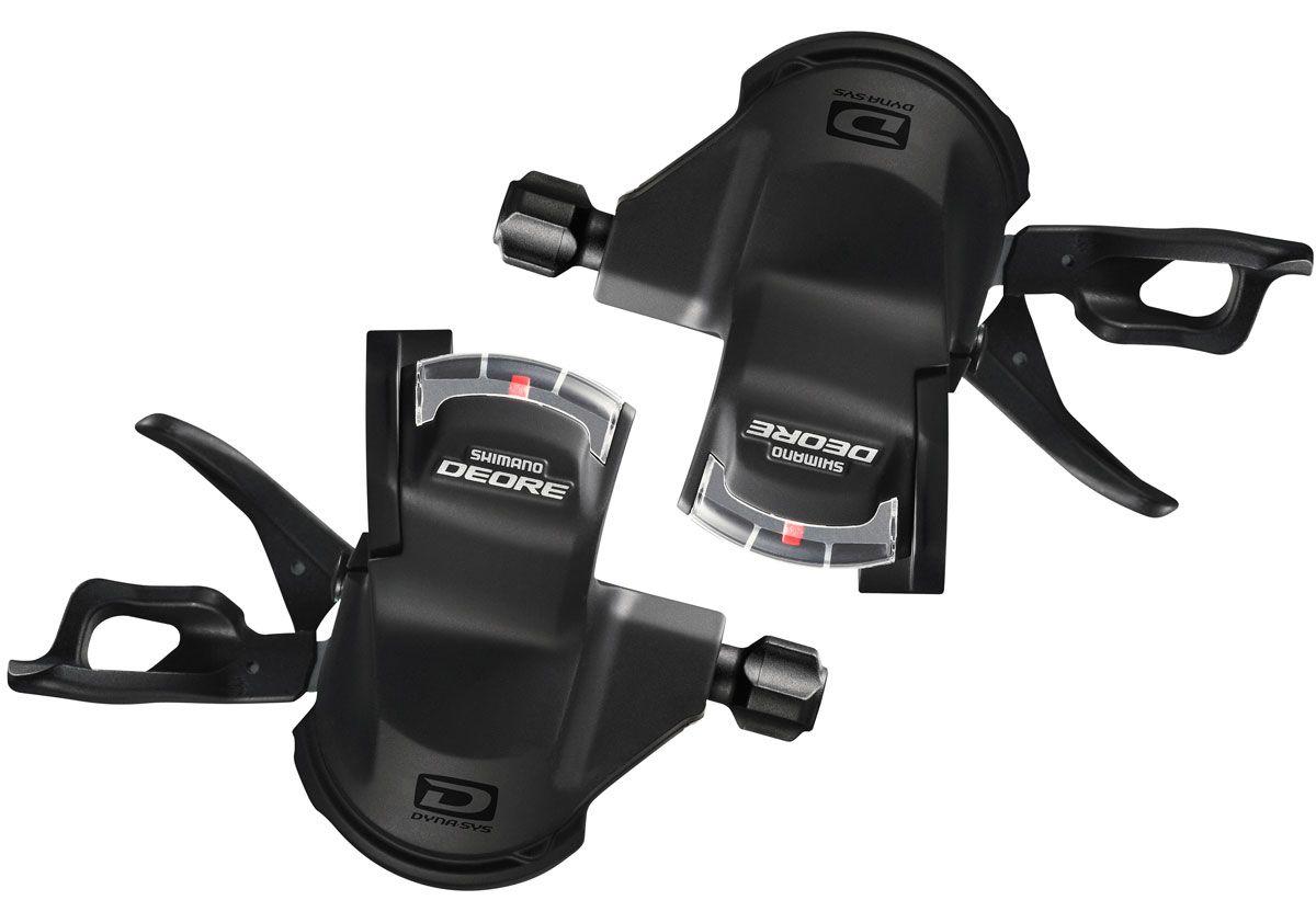 Passador Marchas Shimano Deore M610 Shifter Rapidfire 2x10 3x10 20 ou 30v